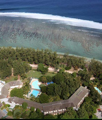 Auberge de la Vieille Tour Hotel 4 étoiles Le Gosier en Guadeloupe Vue