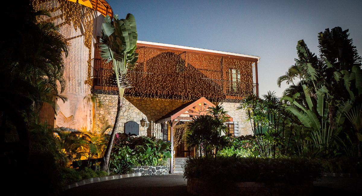 4 Stars Hotel Auberge de la Vieille Tour located in Guadeloupe at Le Gosier