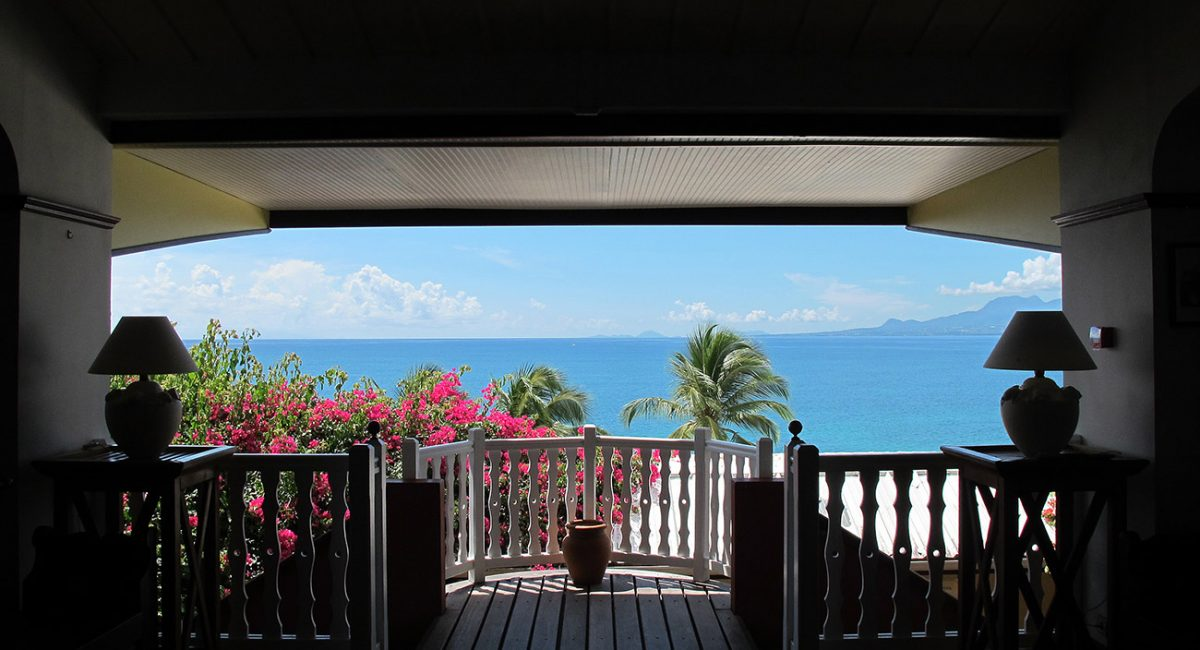 Room with view at 4 Stars Hotel Auberge de la Vieille Tour located in Guadeloupe at Le Gosier